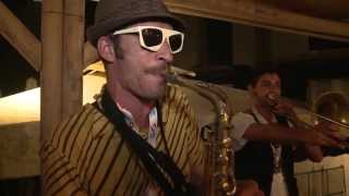 Guča Trumpet Festival - Kumpania Algazarra - AMAZING LIVE PERFORMANCE!