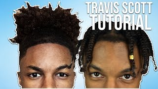 GF Does BF's Hair - Travis Scott Braids | Tiara and Kalon