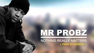 Mr Probz - Nothing Really Matters (  R&B  remix 2015 by Sowdef )