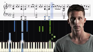 NF - Let You Down - Piano Tutorial + SHEETS