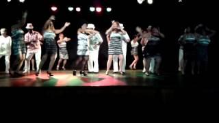 Grupo de dança da 3ª idade do Centro de convivência do Idoso-Manaus