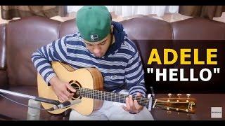 Adele - Hello (guitar cover) - @hebertfreireE