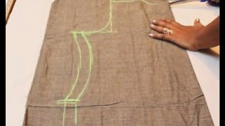 Chudidar Top Cutting& Stitching Tamil(DIY) width=