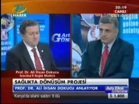 PROF.DR.ALİ İHSAN DOKUCU TGRT HABER-ARTI EKSİ GÜNDEM PROGRAMI