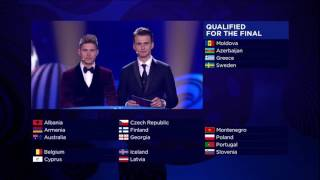 """The 5th finalist is... Portugal!"" Salvador Sobral's reaction"