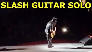 SLASH GUITAR SOLO - The Godfather Theme (MADISON SQUARE GARDEN NYC)