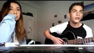 Cover corazón crucificado (El Maki)- Alex Ganimedes y Mar Gómez