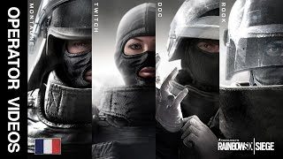 Rainbow Six Siege - All 'GIGN' Operator Videos - Montagne, Twitch, Doc & Rook!