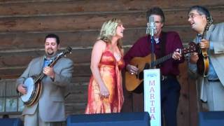 """LIVE"" Rhonda Vincent & Chris Jones sing ""Baby I'm Ready"" HOT !!"