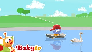 Fileira seu barco com Mick Oliver eo cuddlies | BabyTV Brasil