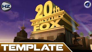 Template | Cinéma 4D | Intro 20th Century FOX