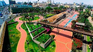 El Parque de la Muralla - Lima