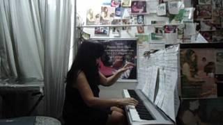PARABÉNS A VOCÊ !!! FELIZ ANIVERSÁRIO !!! PIANO COVER   NICOLE MARIA