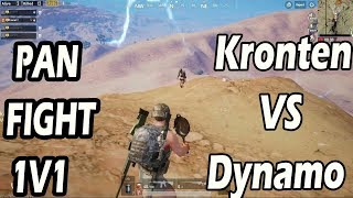 PUBG MOBILE : Kronten Gaming VS Dynamo Gaming Pan Fight | Best Funny Moment | PUBG India