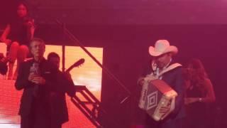 José María Napoleón con Beto Zapata de Pesado. Evento Génesis 2016.