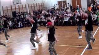 """R&B Dance Team Tánciskola Debrecen - a """"Flaszter Ászai"""" Hip Hop táncverseny"""