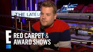 James Corden Teases Ed Sheeran's Carpool Karaoke | E! Live from the Red Carpet