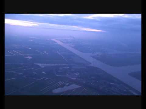KLM Boeing 737 Landing in Amsterdam