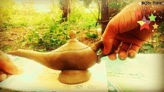 The challenge of making a magic lamp from clay (Aladdin and magic lamp) - SƠN TINH Official part 13