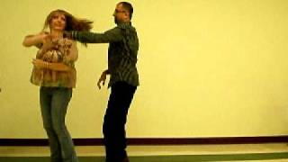 Gulf Coast Swing Dance to Song HERO by Enrique Iglesias by Bethany and Steve.MOV