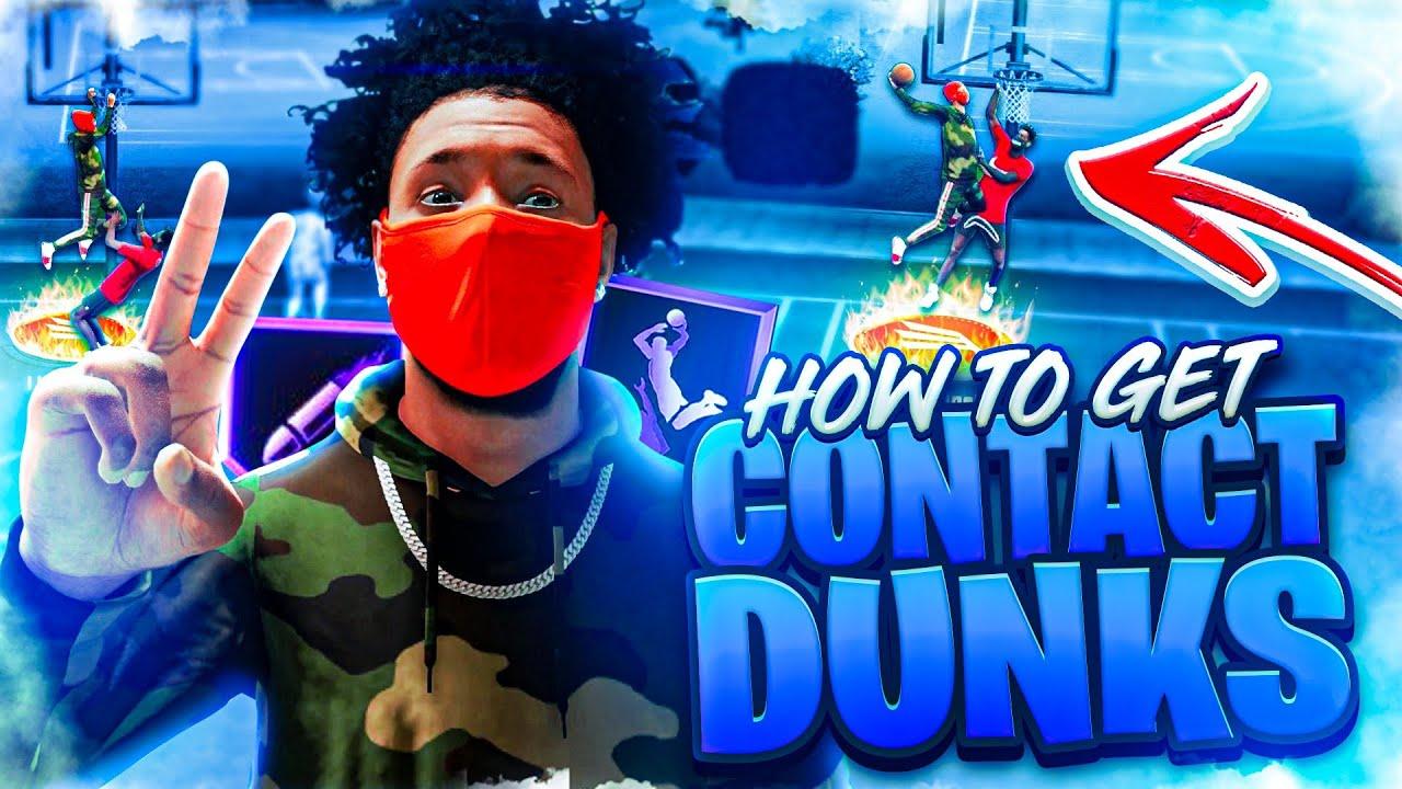 DnellTV - CONTACT DUNK TUTORIAL NBA 2K21 NEXT GEN! BEST DUNK ANIMATIONS/BADGES! HOW TO GET CONTACT DUNKS!