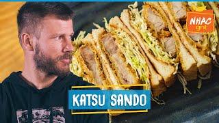 KATSU SANDO: como fazer sanduíche japonês com porco empanado   Rodrigo Hilbert   Tempero de Família