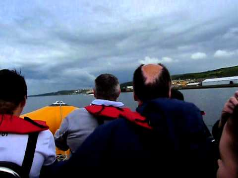 Tallships Greenock Glasgow Safari Boat Ride Part 1