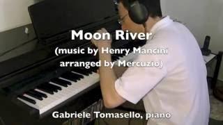Moon River Henry Mancini solo piano Audrey Hepburn (arranged by Mercuzio)