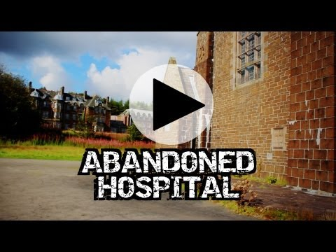 Abandoned Hospital Bangour Village Exterior HD – Urbex Derelict Explore Abandoned Scotland
