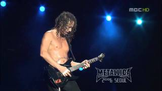 Metallica - Kirk Solo 2 - Live at Seoul 2006 HD