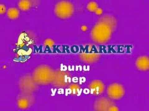 Makromarket Tv Reklamı Animasyon
