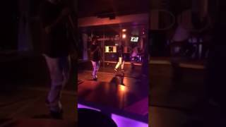 """J- Hazey performing """"in love with the hustle"""" live at Eldorado's lounge"""