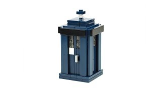 "LEGO Tardis ""Doctor Who"". MOC Building Instructions"
