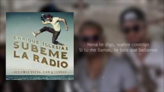 Súbeme La Radio (Letra) - Zion y Lennox Ft. Enrique Iglesias, Descemer Bueno + Descarga Mp3
