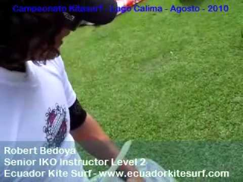 Ecuador Kitesurf – Robert Bedoya in Calima Lake with BEST Equipment – National Championship 2010