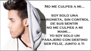 Prince Royce - Culpa Al Corazon Letra