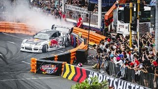 1200hp Drifting in the Streets of Auckland  - Red Bull Drift Shifters