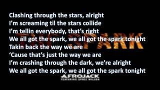 Afrojack ft Spree Wilson   The Spark Lyrics