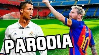 Canción Barcelona - Real Madrid 1-1 (Parodia CNCO - Reggaetón Lento)