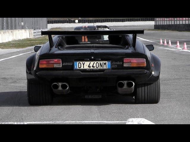 DeTomaso Pantera Great V8 Sound - Start, Revs & Accelerations