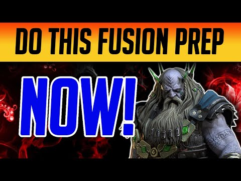 START FUSION PREP TODAY! Follow these tips! | Raid: Shadow Legends