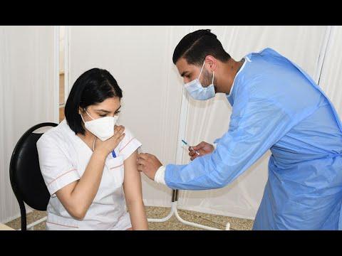 Video : Secteur privé: Le corps médical et paramédical reçoit la 1re dose du vaccin