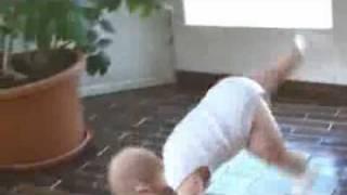 Baby Break Dance (Evian Commercial)