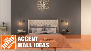 Accent wall ideas.