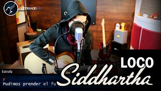 LOCO Siddhartha Ft. Caloncho | Guitarra Cover Tutorial Demo Christianvib
