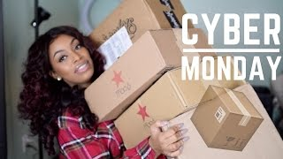HUGE CYBER MONDAY HAUL | Unboxing + Try- On (Morphe, ABH, Adidas, Puma, UGG, Vans)