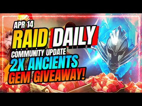 2x Ancients | GEM GIVEAWAY! | My Thoughts CvC | RAID Shadow Legends