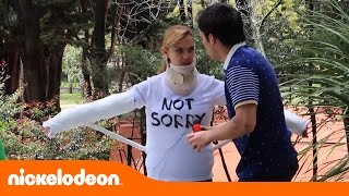 I Am Frankie | Bastidores da Tamara Engessada | Nickelodeon em Português