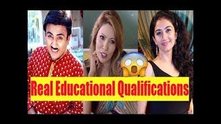 Real Education Of Taarak Mehta Ka Ooltah Chasmah Actor's -  Shocking news !!