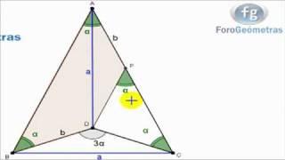 Congruencia Triángulos  (L. L. L.)